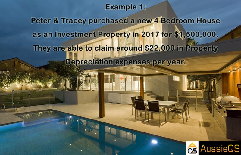 Property tax depreciation example 1
