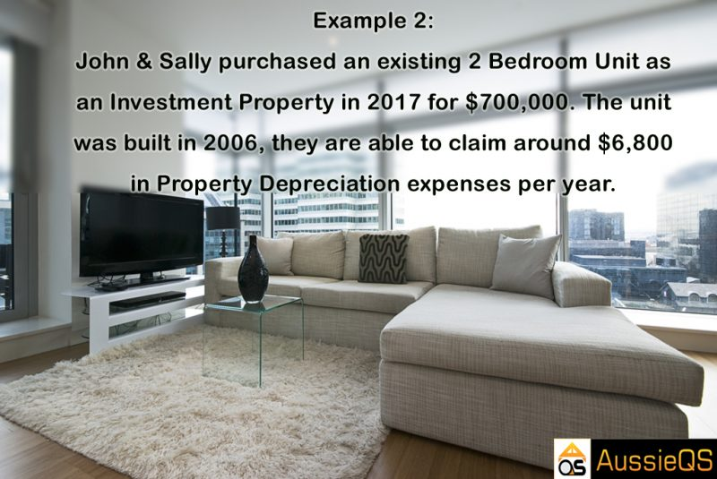 Property tax depreciation example 2