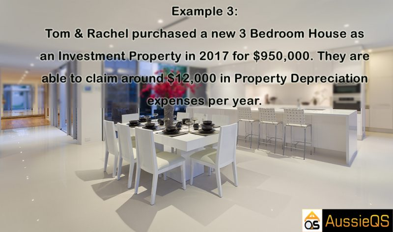 Property tax depreciation example 3